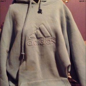Adidas plush hoodie